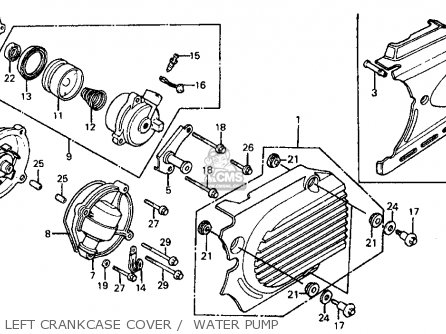 Honda Vf700c Magna 1985 Usa parts list partsmanual partsfiche