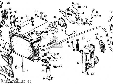 Honda VF700C MAGNA 1986 (G) USA CALIFORNIA parts lists and