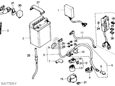 Honda Vf700c Magna 1987 Usa parts list partsmanual partsfiche
