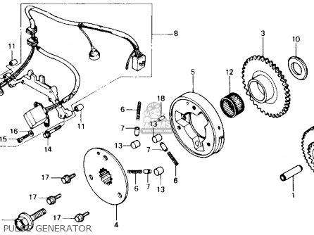 Honda Vf700c Super Magna 1987 (h) Usa parts list