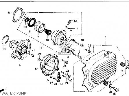 Honda Vf700c Supermagna 1987 (h) Usa California parts list