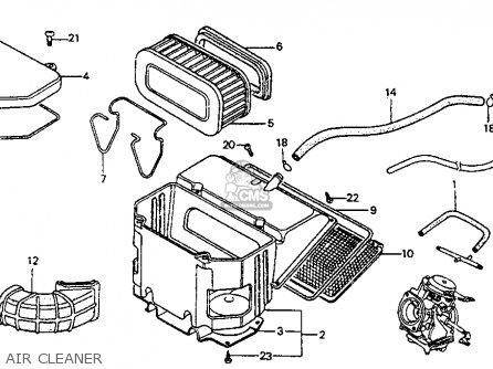 Honda VF700F INTERCEPTOR 1984 (E) USA CALIFORNIA parts