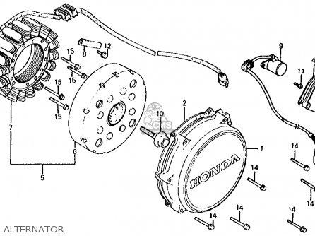Honda Vf700s Sabre 1984 (e) Usa California parts list