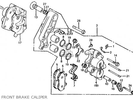 Honda VF700S SABRE 1984 (E) USA CALIFORNIA parts lists and