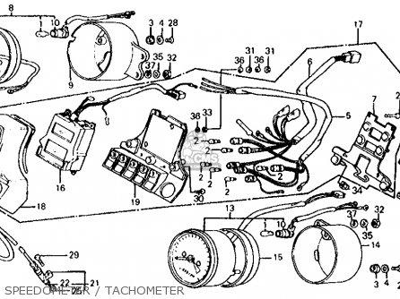 Honda Vf700s Sabre 1984 Usa parts list partsmanual partsfiche