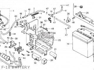 Honda VF750C MAGNA 1982 (C) parts lists and schematics