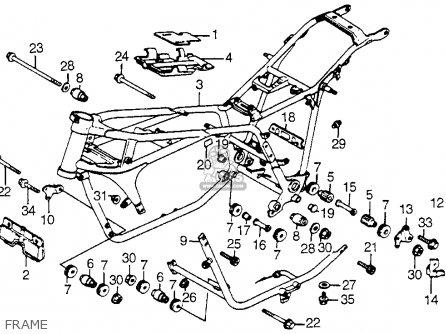 Honda Vf750c Magna 1982 (c) Usa parts list partsmanual