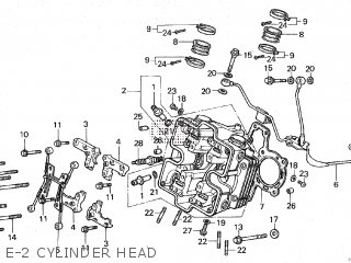 Honda VF750C MAGNA 1983 (D) parts lists and schematics