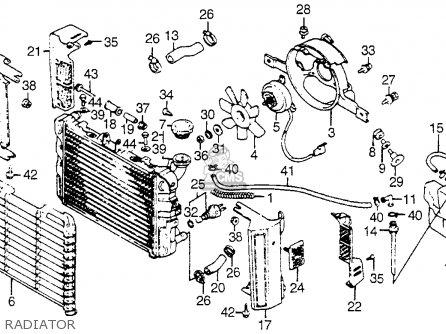 Honda VF750C MAGNA 1983 (D) USA parts lists and schematics