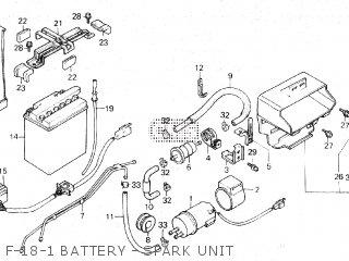 Honda VF750C MAGNA 1986 (G) parts lists and schematics