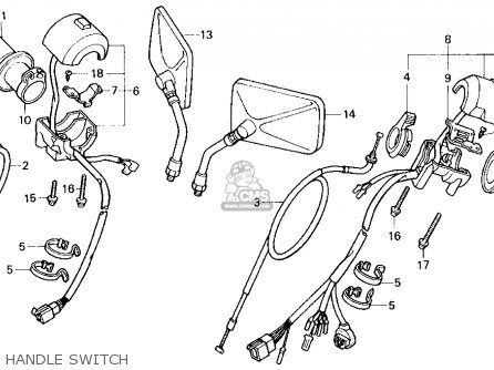 Honda VF750C MAGNA 1988 (J) USA CALIFORNIA parts lists and
