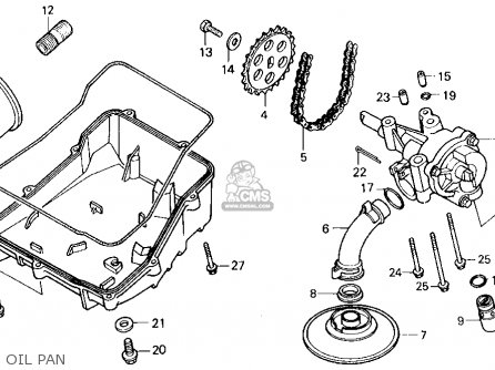 Honda Vf750c Magna 1988 (j) Usa California parts list