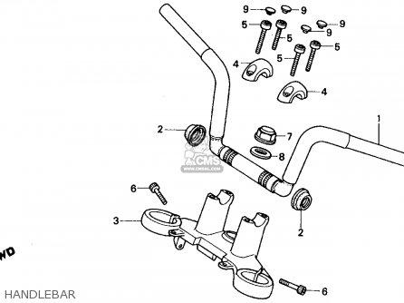 Honda Vf750c Magna 1988 (j) Usa parts list partsmanual