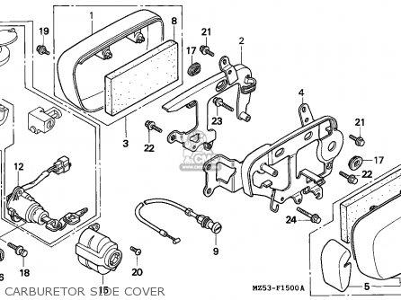 Honda Vf750c Magna 1993 (p) Germany / Kph parts list