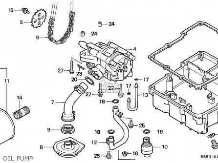 Honda Vf750c Magna 1993 (p) Spain / Kph parts list