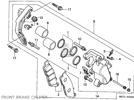 Honda VF750C MAGNA 1994 (R) EUROPEAN DIRECT SALES / KPH