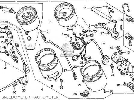 Honda Vf750c Magna 1994 (r) Usa California parts list