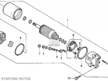 Honda VF750C MAGNA 1994 (R) USA CALIFORNIA parts lists and
