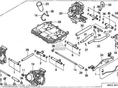 Honda VF750C MAGNA 1995 (S) CANADA / KMH parts lists and