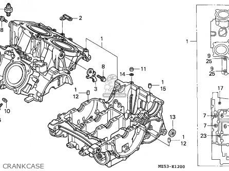 Honda VF750C MAGNA 1995 (S) GERMANY / KPH parts lists and