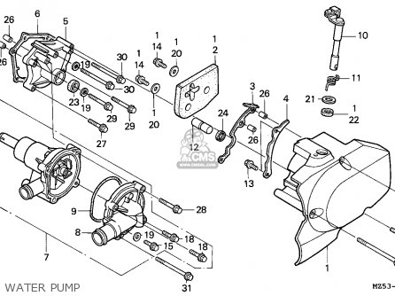 Honda VF750C MAGNA 1997 (V) AUSTRIA / KPH parts lists and