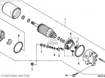 Honda VF750C MAGNA 1997 (V) SPAIN / KPH parts lists and