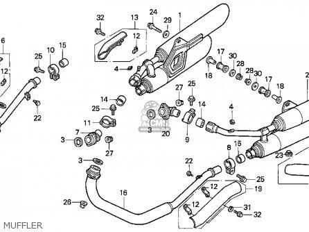 Honda VF750C MAGNA 1997 (V) USA CALIFORNIA parts lists and