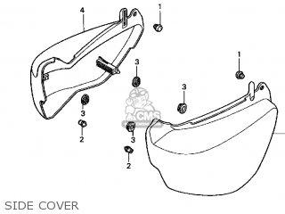 Honda VF750C MAGNA 2003 (3) USA parts lists and schematics
