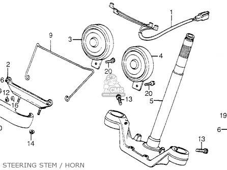 Honda Vf750c V45 Magna 1982 (c) Usa parts list partsmanual