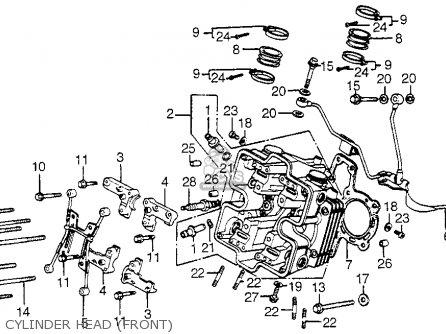 Honda Vf750c V45 Magna 1982 Usa parts list partsmanual