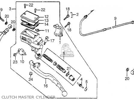 1983 Honda magna v45 clutch master