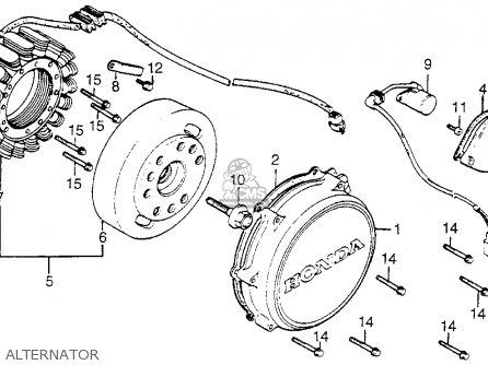 Honda Vf750c V45 Magna 1983 Usa parts list partsmanual