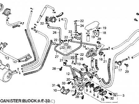 Honda Vf750c V45 Magna 1988 Usa parts list partsmanual