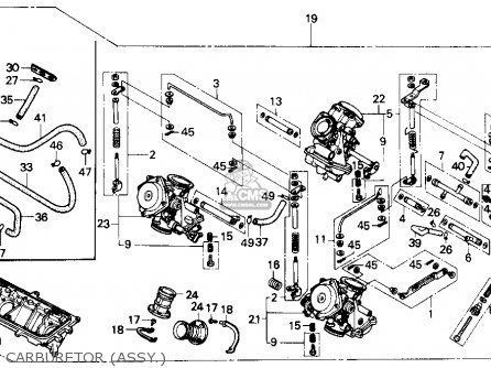 Honda Nx 250 Wiring Diagram