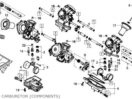 Honda v45 magna carbeurator