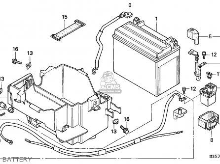 Honda VF750C2 MAGNA 1997 (V) CANADA / KMH parts lists and