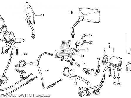 Honda Vf750cd Magna Deluxe 1995 Usa parts list partsmanual