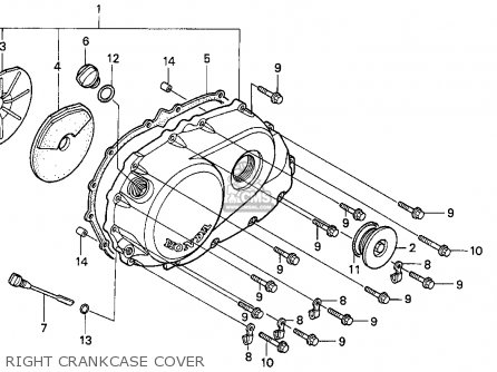 Honda Vf750cd Magna Deluxe 1996 (t) Usa California parts