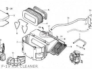Honda VF750F INTERCEPTOR 1983 (D) parts lists and schematics