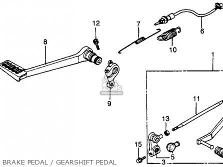 Honda VF750F INTERCEPTOR 1984 (E) USA CALIFORNIA parts