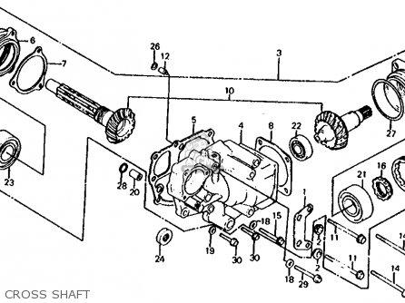 Honda VF750S SABRE 1982 (C) USA parts lists and schematics