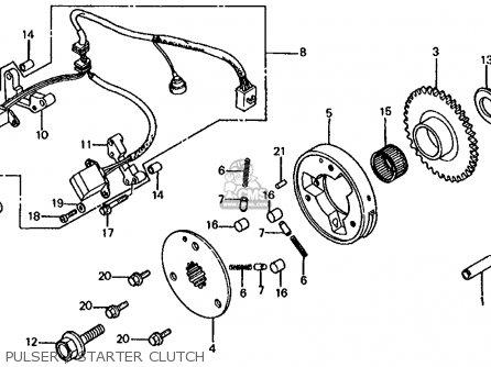 Honda Vf750s Sabre 1982 (c) Usa parts list partsmanual