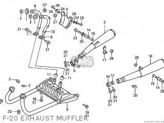Honda VF750S SABRE1984 (E) parts lists and schematics