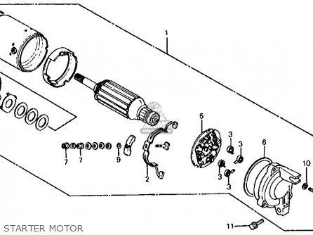 Honda Vf750s V45 Sabre 1983 Usa parts list partsmanual