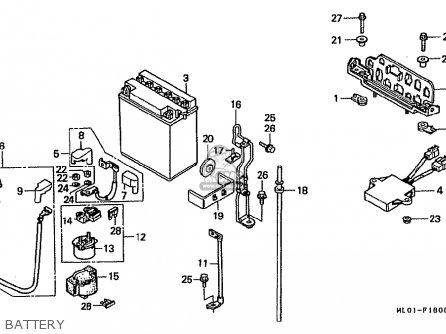 Honda VFR400R 1986 (G) JAPAN parts lists and schematics