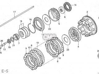 Honda VFR400R3 1989 (K) JAPAN NC30-100 parts lists and