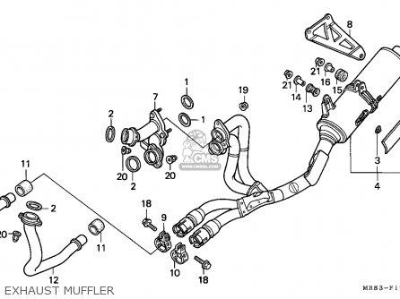 Honda VFR400R3 1991 (M) AUSTRIA parts lists and schematics