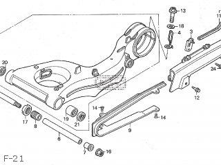 Honda VFR400R3 1992 (N) JAPAN NC30-110 parts lists and