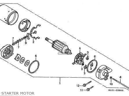 Honda Vfr400riii Nc24-102 1988 (j) Japan parts list