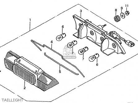 Honda VFR400Z NC21-102 1987 (H) JAPAN parts lists and